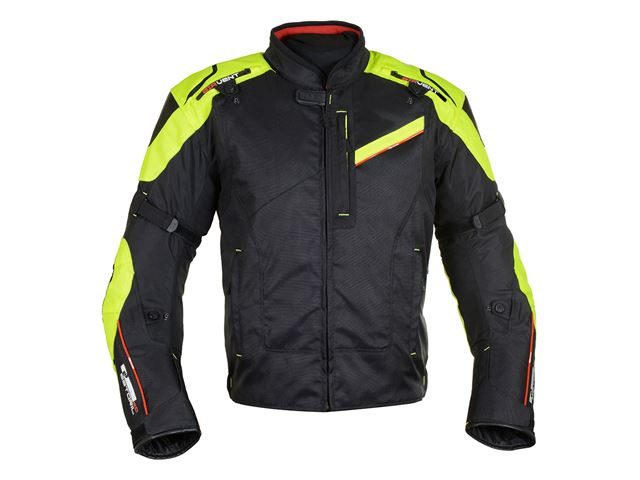 Estoril 2.0 MS Short Jkt Blk/Fluo XL/44