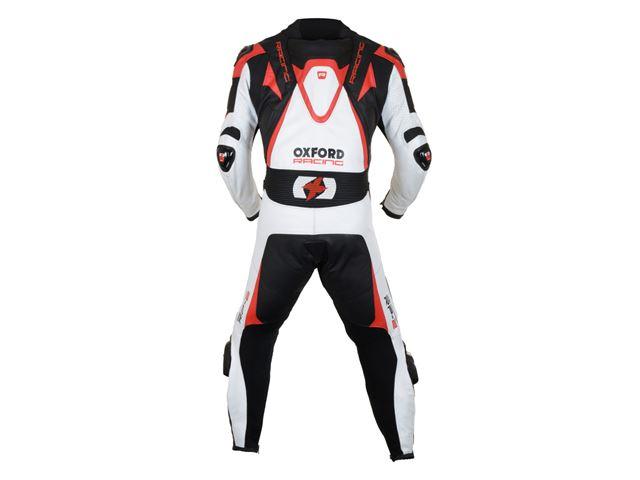 RP-2 MS Leather Suit W/Bl/R XL/44