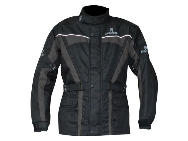 J14 Spartan Jacket Black/Grey L