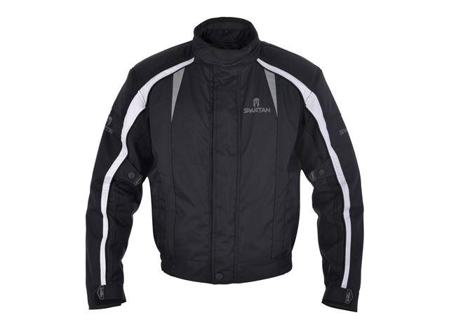 J14S Spartan Short Jacket All Black M
