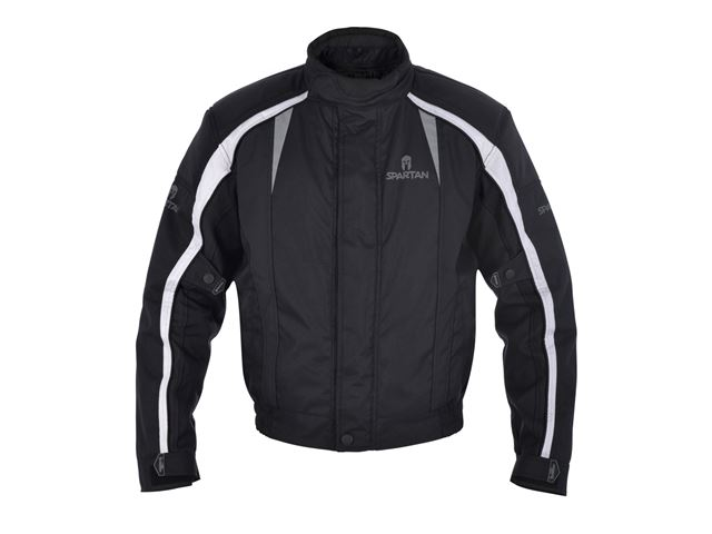 J14S Spartan Short Jacket All Black 4XL