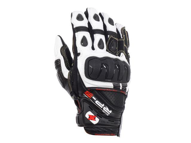 RP-3 Leather Short Glove Black/White S