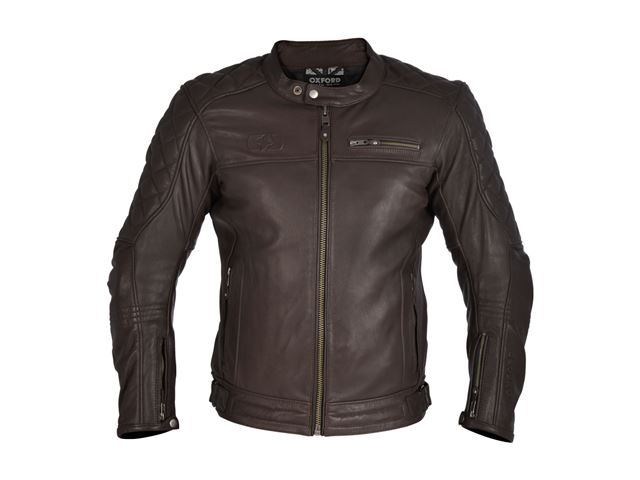 Route 73 Leath MS Jkt Brown XL/44