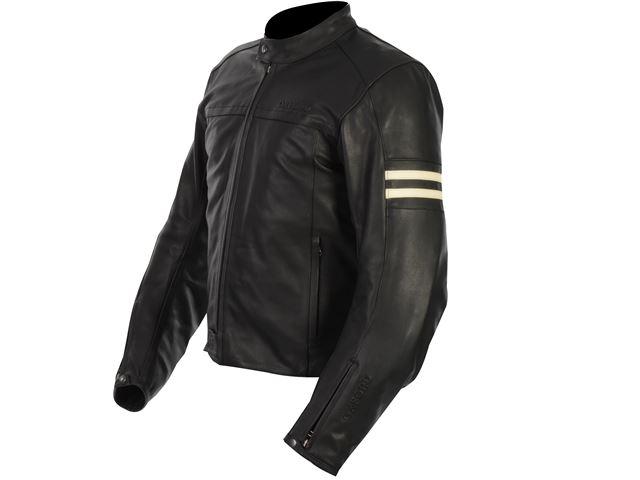 Interstate WS Leather Jkt Black 8/S