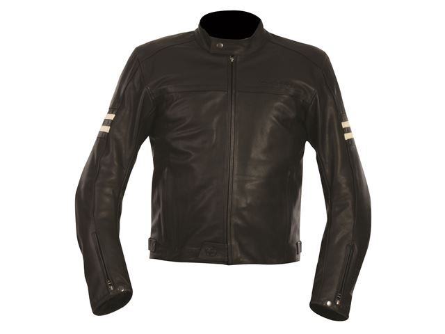 Interstate WS Leather Jkt Black 20/4XL