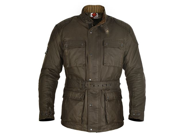 Oxford Heritage MS Wax Olive Jkt S/38