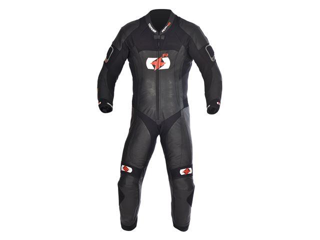 RP-3 MS Leath Suit Tech Blk 2XL/46