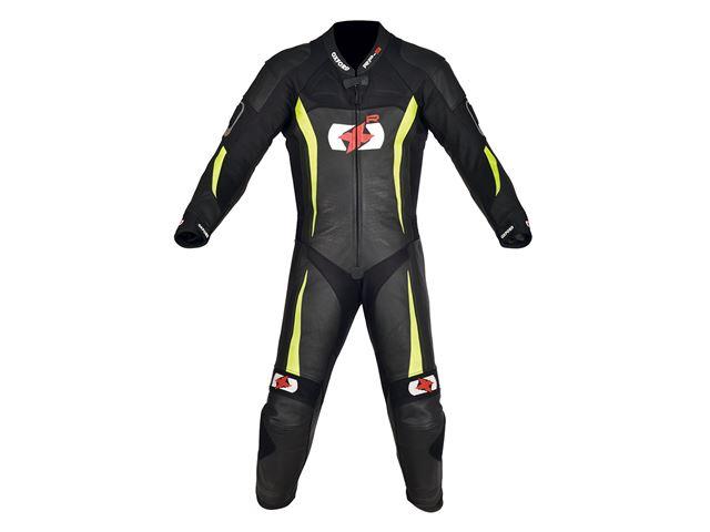 RP-3 MS Leath Suit Blk/Fluo 3XL/48
