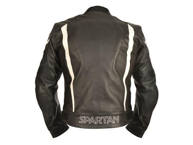 Spartan MS Leath Touring Jkt Blk 2XL/46