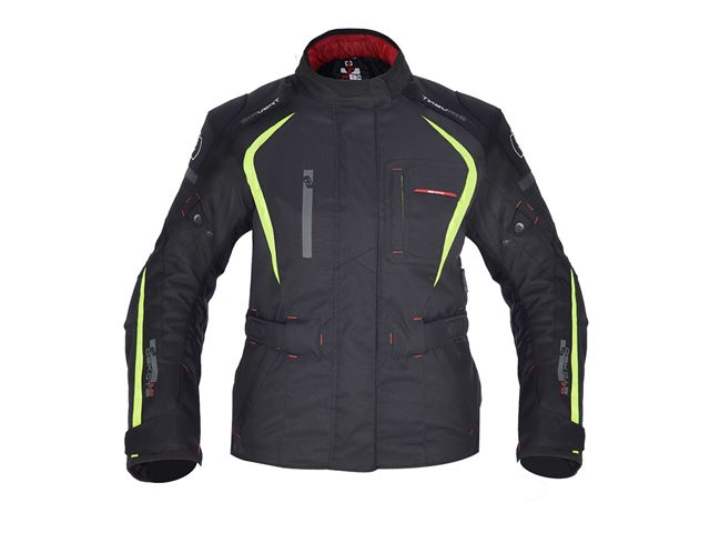 Dakota WS Long Txt Jkt Black/Fluo 14