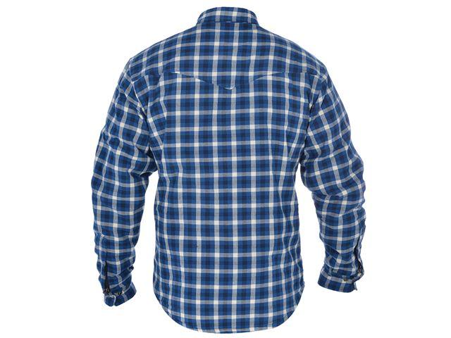 Kickback Shirt Checker Blu/Wht M
