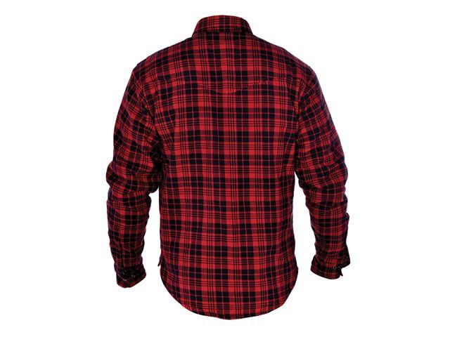 Kickback Shirt Checker Red/Blk 2XL