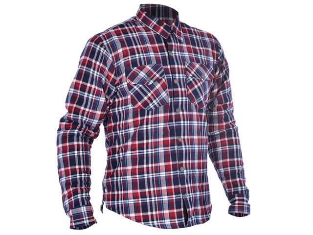 Kickback Shirt Checker Red/Blu M