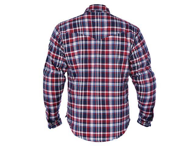 Kickback Shirt Checker Red/Blu XL