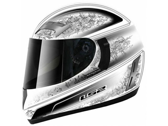 FF 375.1 LS2 Garda Gloss White Black