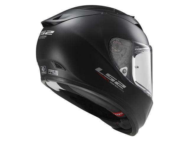 FF323 Arrow R - Solid Matt Black XXS