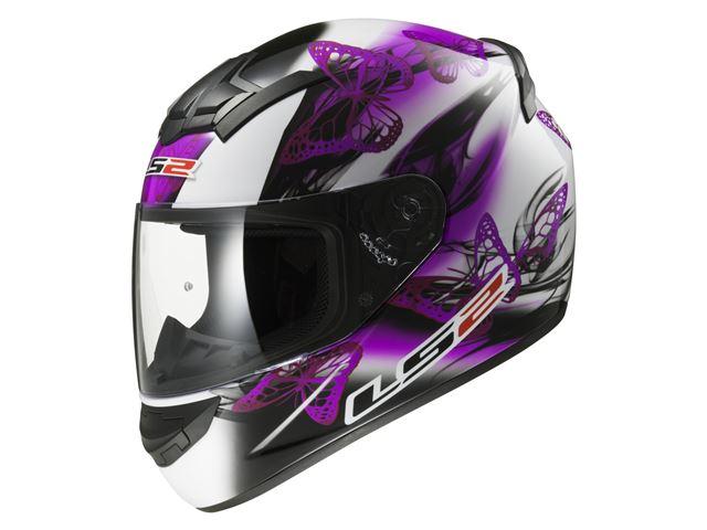 FF352 Rookie - Flutter White Purple