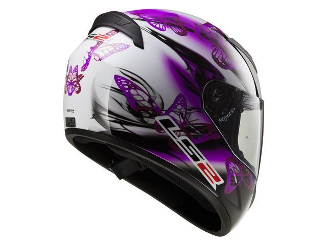 FF352 Rookie - Flutter White Purple XS