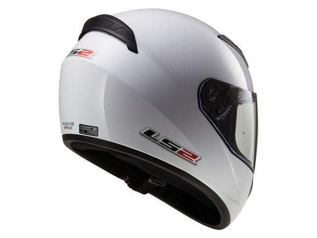 FF352 LS2 Rookie - Gloss White XXS