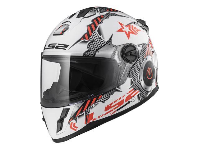 FF392J Kid - Machine White Red