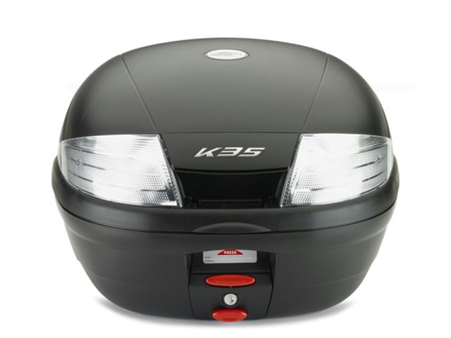 K35NT Kappa Boks 35L Sort Monolock