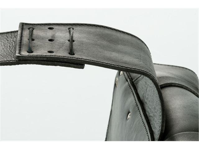 CU500 Leather custom saddlebags
