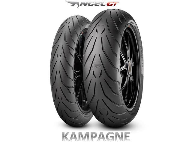 Pirelli Angel GT 120/70ZR17 160/60ZR17 kampagne