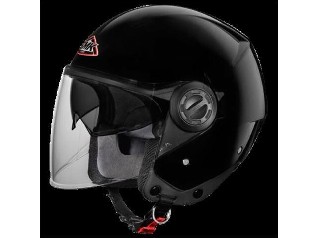 SMK Cooper black (pilot w/ sunvisor) SIZE 54