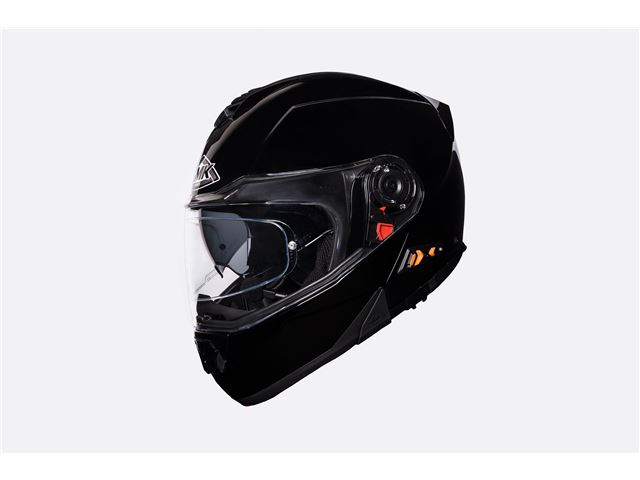 SMK Glide black (flip-up w/sunvisor) SIZE 56