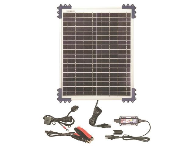 Solar Pulse Charger  12V with 20W solar panel