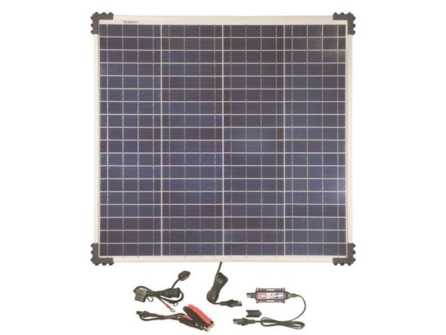 Solar Pulse Charger  12V with 60W solar panel