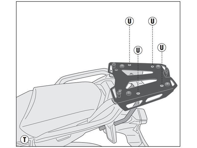 GIVI Bagagebærer u/topplade - CRF1000 18-