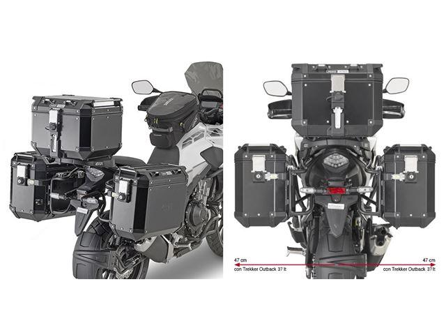 GIVI Taskeholder OUTBACK - CB500X 19- k.m.1121fz/k
