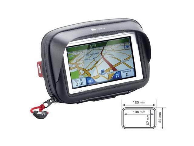 GIVI GPS HOLDER INDV. B.10,4 X H.6,7CM M. SKYGGE