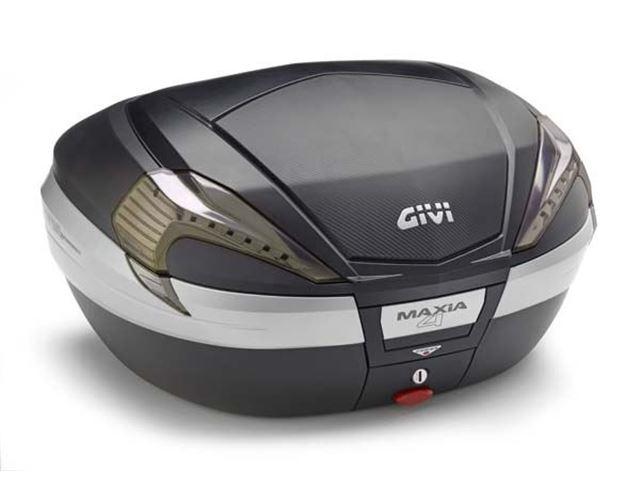GIVI Topboks Monokey 56L MAXIA 4 - Carbon m/Klar
