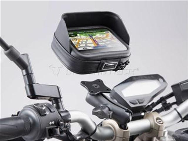 GPS holder kit uni 22-28mm styr med taske M