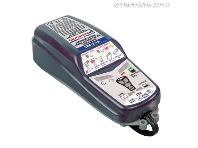 Optimate 4 Dual 9 prog 1 amp