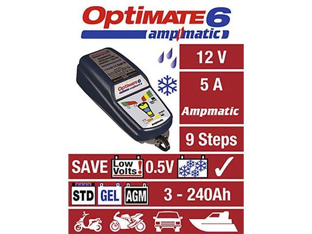 OPTIMATE 6 LADER AMP MATIC 5 Amp