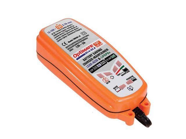 OPTIMATE lader 12V fra batteri til batteri