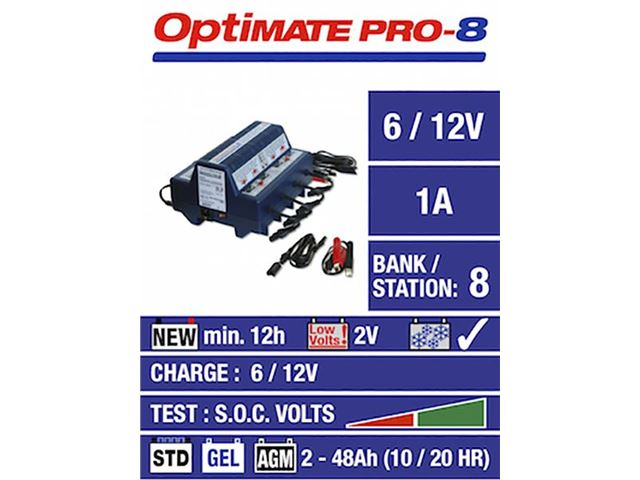 OPTIMATE PRO8-S LADER 8 Bank
