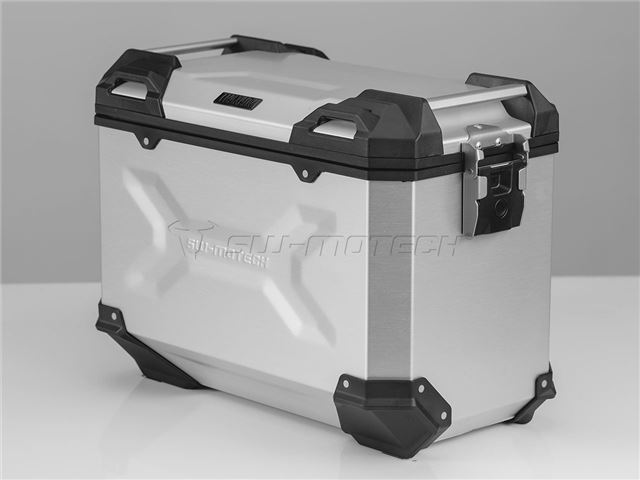 TRAX Adventure Alu-boks 45L - Højre/sølv